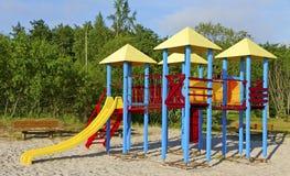 Children playground. Stock Photo