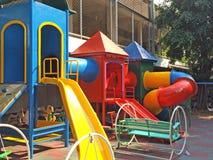 Children Playground in School Royalty Free Stock Photo