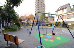 Children playground in Tokyo city Royalty Free Stock Photos