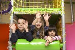 Children at playground Stock Images