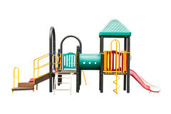 Children playground on white isolated background with clipping p Stock Photo