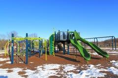 Snow Playground Royalty Free Stock Image
