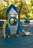 Children playground in the yard Royalty Free Stock Images