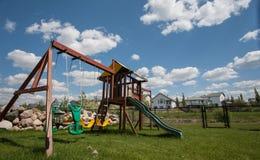 Children playhouse gymset Stock Photos