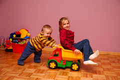 Children playing stock photography