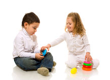 Children playing Stock Photos