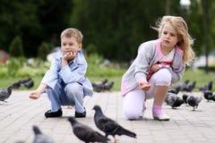 Children playing Stock Photos