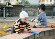 Children playing Stock Photo