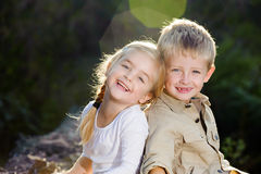 Children playing Royalty Free Stock Photos