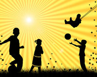Children playing Royalty Free Stock Image