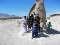Children playing in Afghanistan Stock Photos
