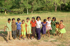 Children playing in Andamans. Andaman children playing, India Asia royalty free stock images