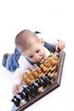 Children playing chess Stock Image