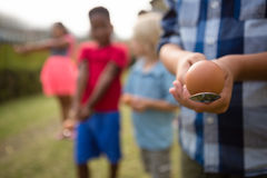 Free Children Playing Egg And Spoon Race Royalty Free Stock Photo - 97583085