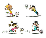 Children playing Football, Soccer Royalty Free Stock Image
