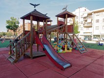 Children playing at playground Royalty Free Stock Photos