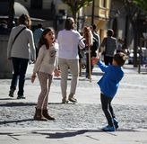 Children Playing Royalty Free Stock Images
