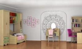 Children pokój dla dziecka ilustracji