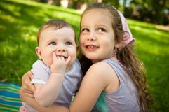 Children portrait Royalty Free Stock Photography
