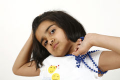 Children pose Royalty Free Stock Images