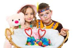 Children posing Royalty Free Stock Photos