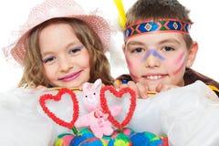 Children posing Royalty Free Stock Photography