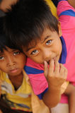 Children in Poverty Royalty Free Stock Image