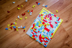 Children puzzle Royalty Free Stock Photography