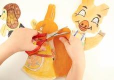 Children ręki Zdjęcia Royalty Free