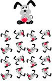children rabbit pattern seamless Royalty Free Stock Photos
