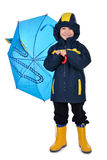Children raincoat Stock Images