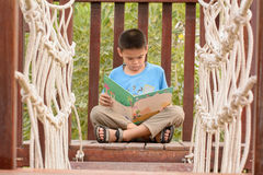 Children read books Stock Photography