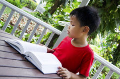 Children reading Royalty Free Stock Image