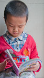 Children are reading and learning Stock Images