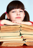 Children and reading. Stock Photo