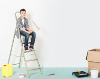Children repairs Royalty Free Stock Photos