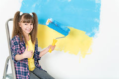 Children repairs Royalty Free Stock Images