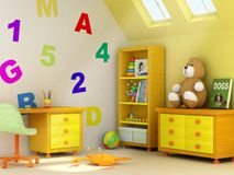 Children room royalty free stock photo