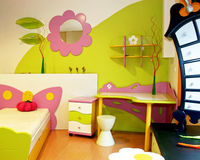 Children room detail Royalty Free Stock Photo