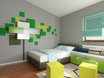 Children room interior Royalty Free Stock Photos