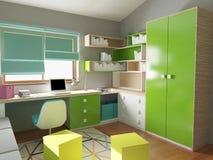Children room interior Stock Images