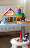Children room interior with toys Royalty Free Stock Photography