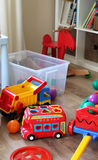 Children room interior with toys Stock Image