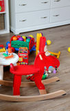 Children room interior with toys Stock Images