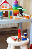 Children room interior with toys Stock Photos