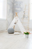 Children room in loft or rustic style Royalty Free Stock Images
