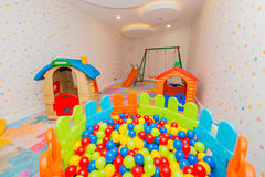 Children room with many toys. The children room with many toys Stock Photo
