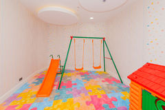 Children room with many toys Royalty Free Stock Images