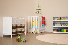 Children room with toys Royalty Free Stock Photo