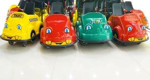 Children rozrywkowi samochody Zdjęcia Royalty Free